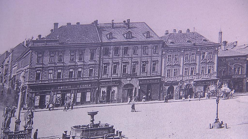 Veigertovský dům na historickém obrázku