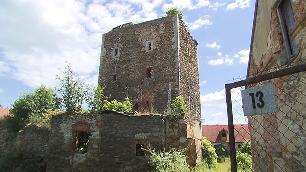 Gotická tvrz Hradenín