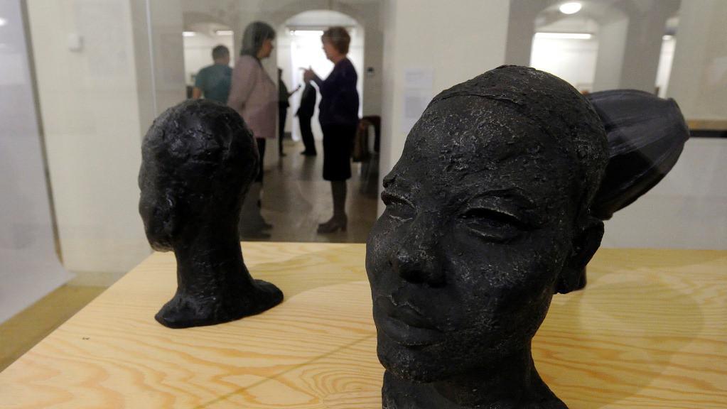 Portrét africké dívky od Františka Vladimíra Fojta