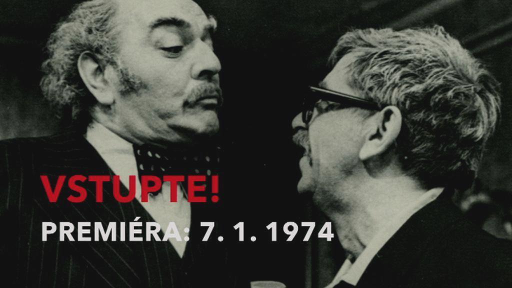 Vstupte! v roce 1976 / Josef Bláha a Vlastimil Brodský