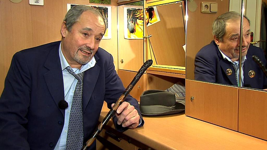Viktor Preiss s legendární špacírkou