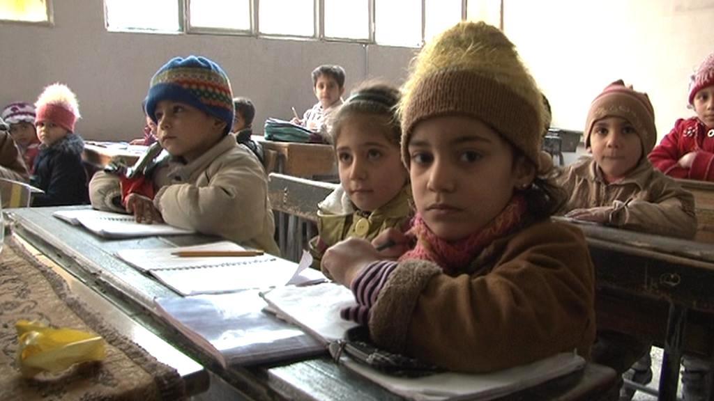 Někteří žáci z Aleppa se mohli vrátit do školy