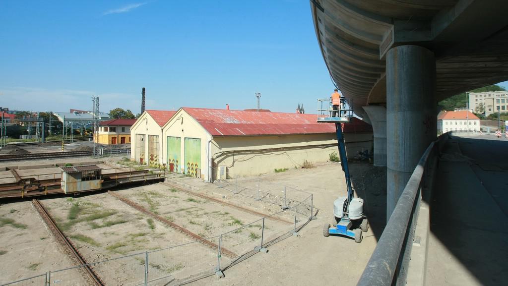 Pozemky kolem Masarykova nádraží