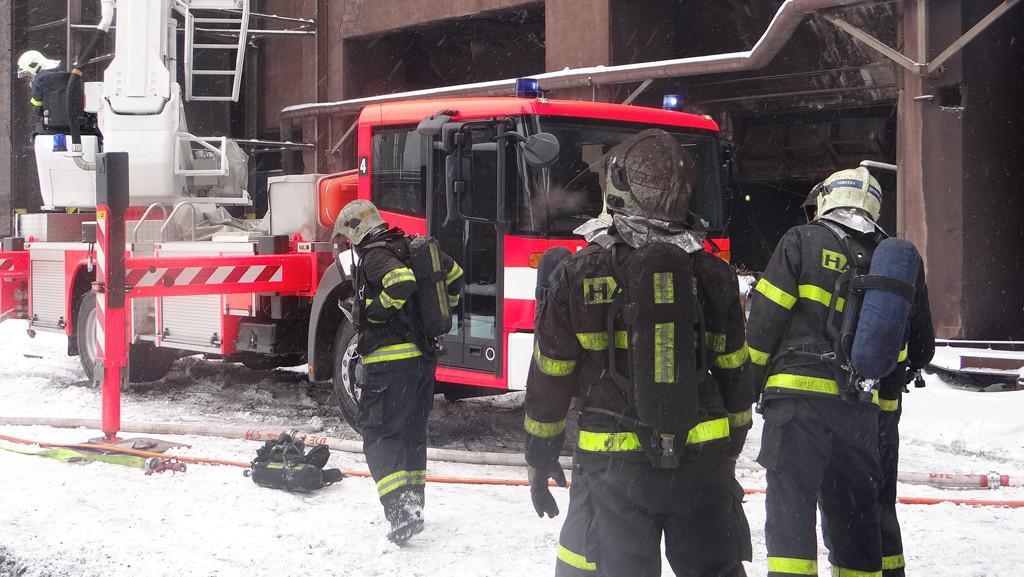 Požár ArcelorMittal Ostrava