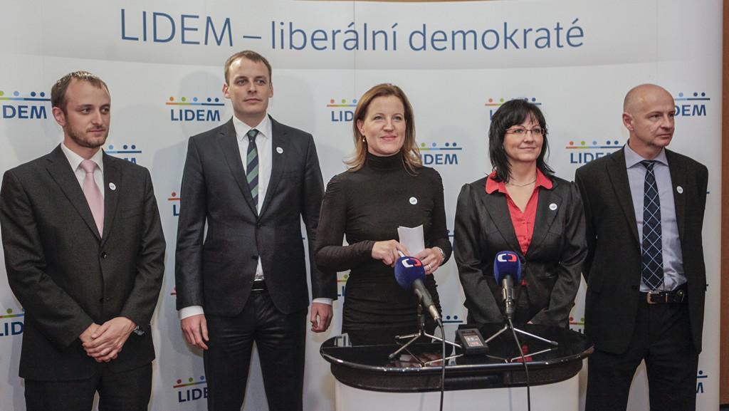 Předsednictví strany LIDEM