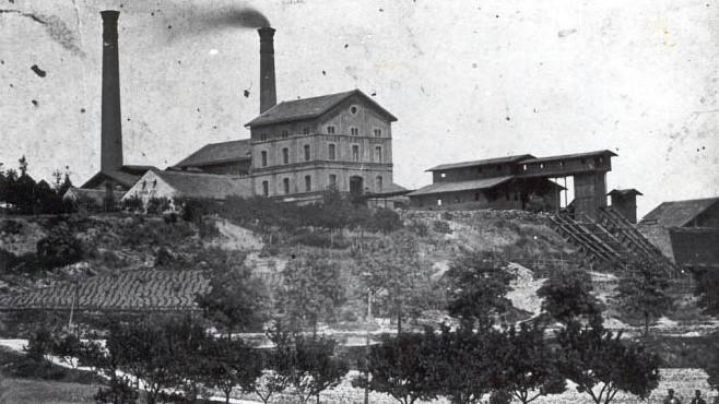 Historická podoba dolu Julius z roku 1888