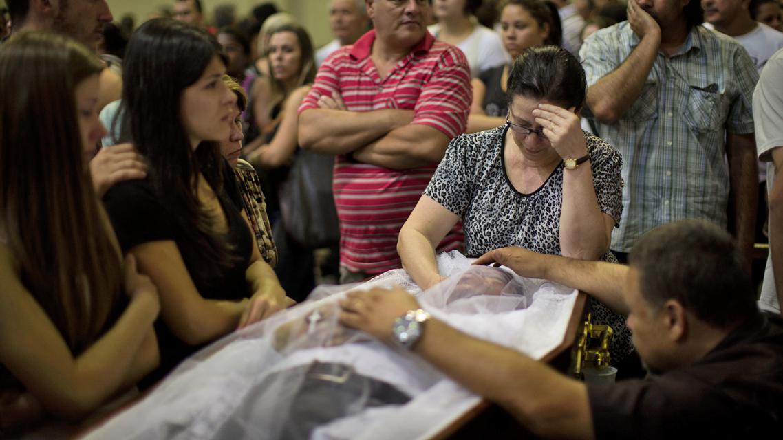Oběť tragédie v Santa Marii