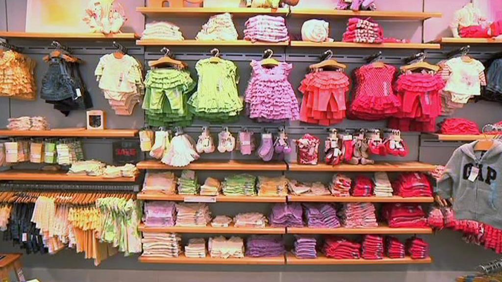 Nákup dětského oblečení