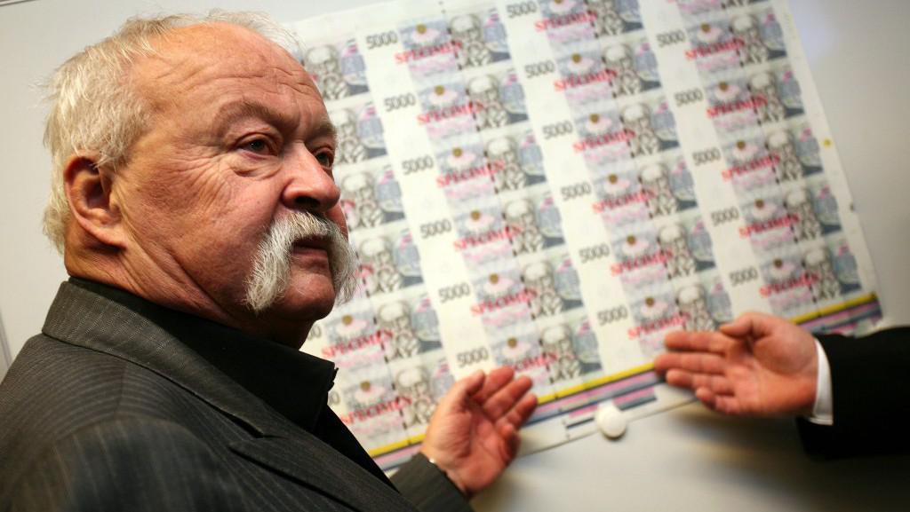 Oldřich Kulhánek a jeho návrh pětitisícové bankovky