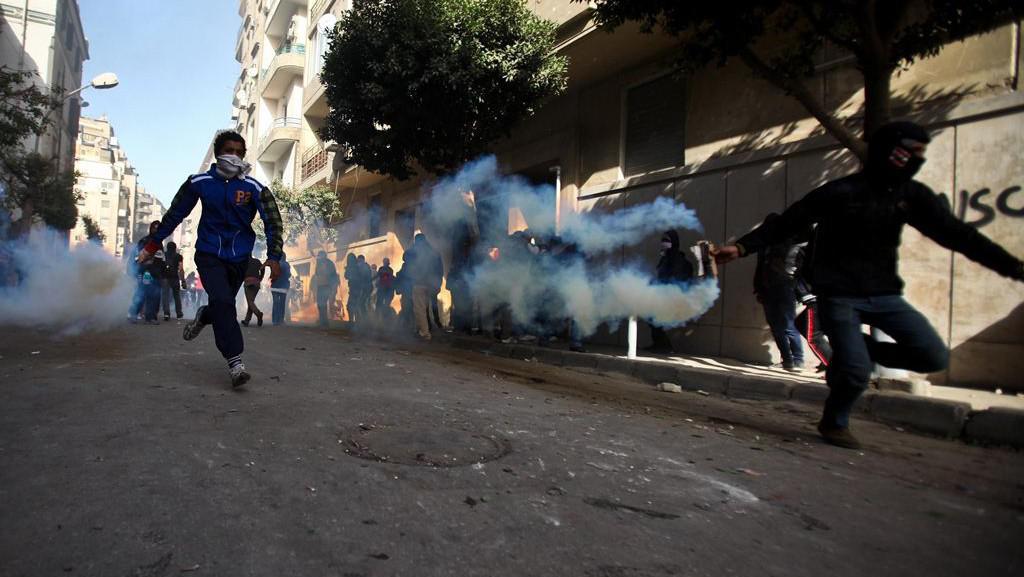 Protesty v egyptském Port Saídu