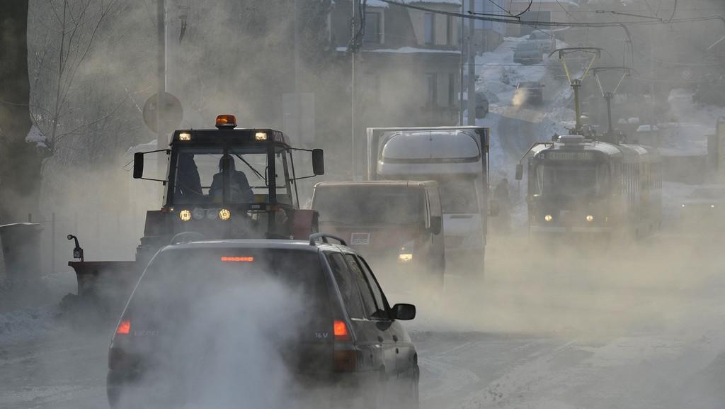 Zima v ulicích