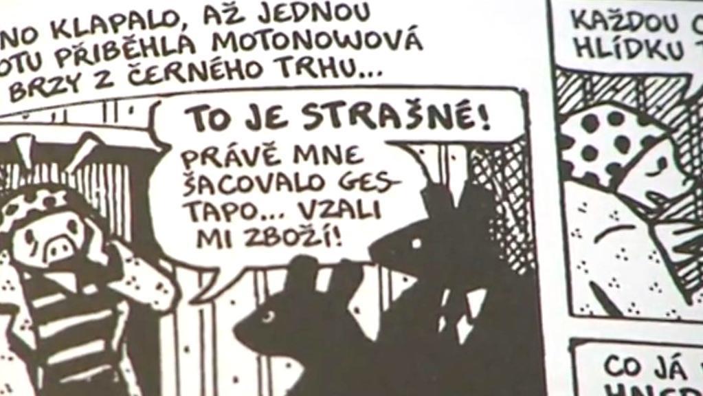 Z komiksu Maus