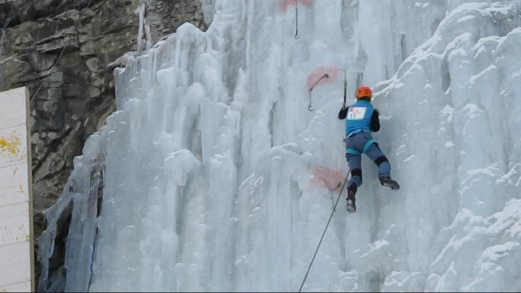 Na ledové stěne to devatenáctiletá reprezentantka umí