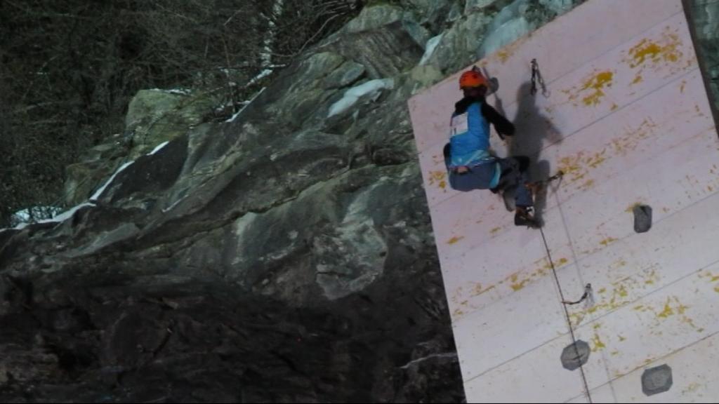 Ve finálové cestě dosáhla brněnská lezkyně na top