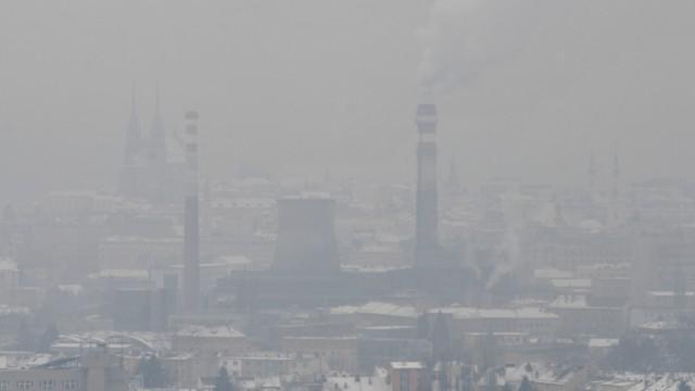 Smog nad Brnem