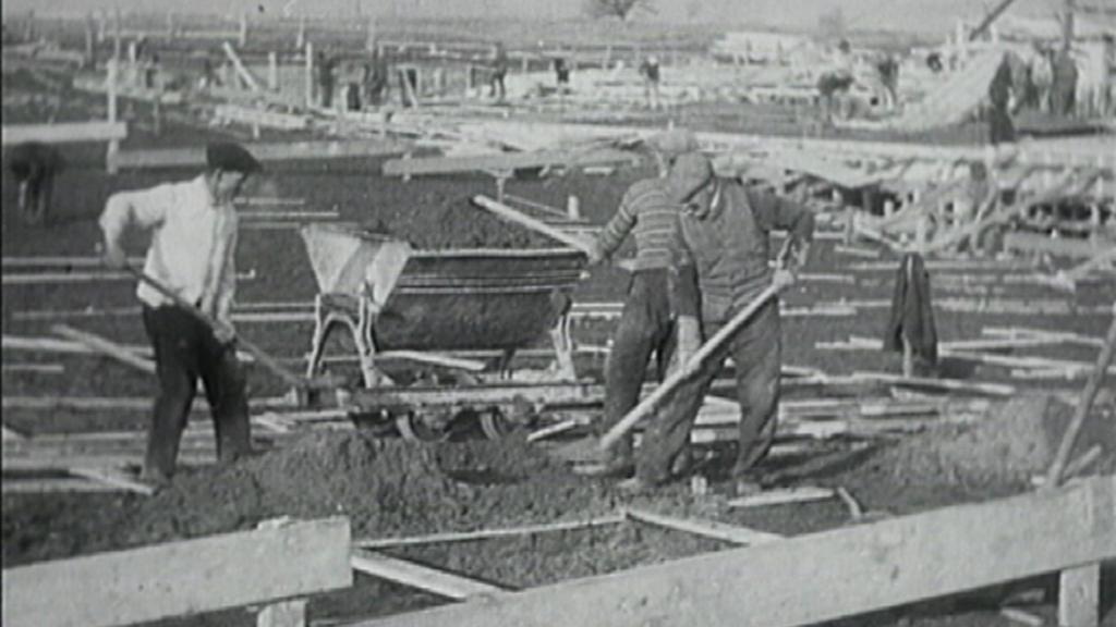 Stavba barrandovských ateliérů