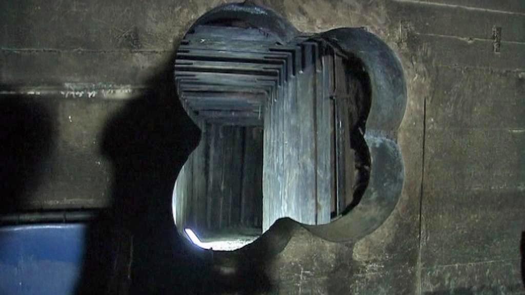 Tunel, jímž zloději vyloupili pobočku Berliner Volksbank