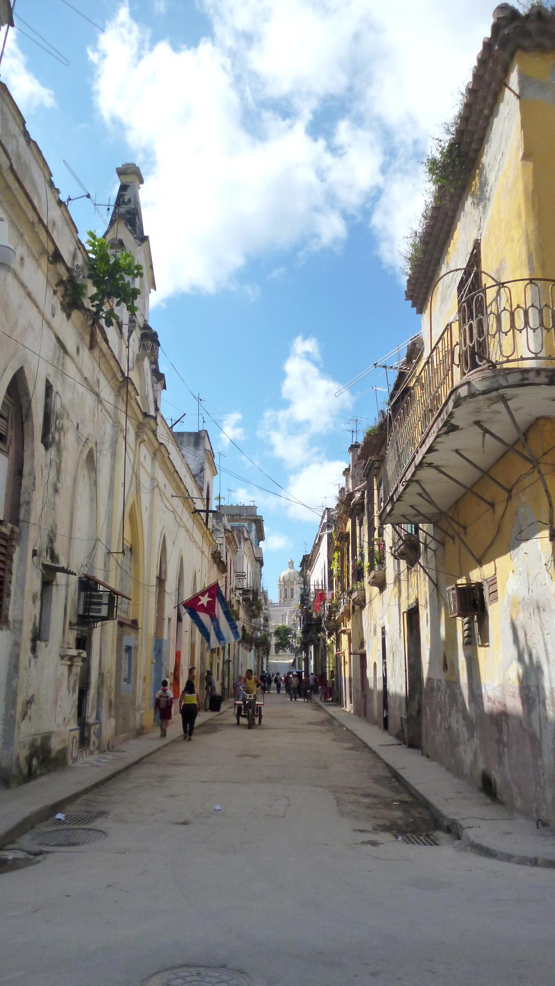 Typická ulička v Havaně