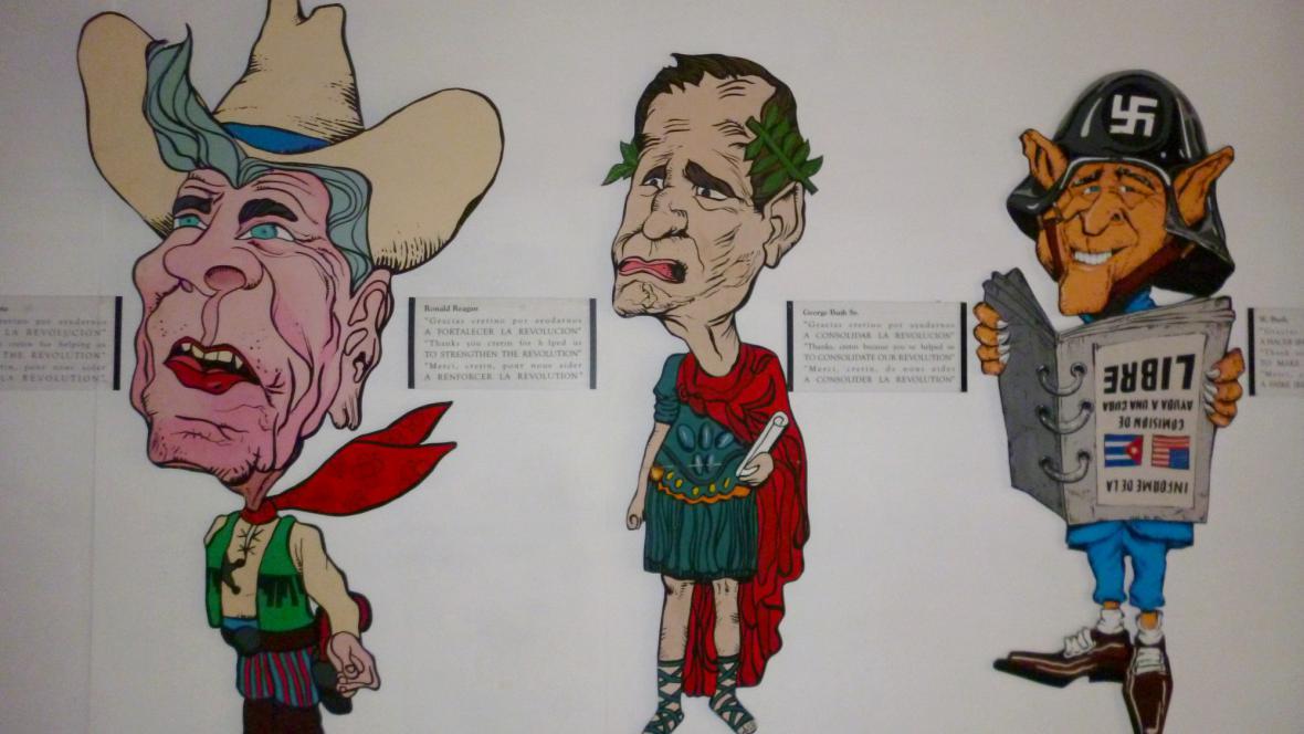 Muzeum revoluce: Jak Kubánci vidí americké politiky