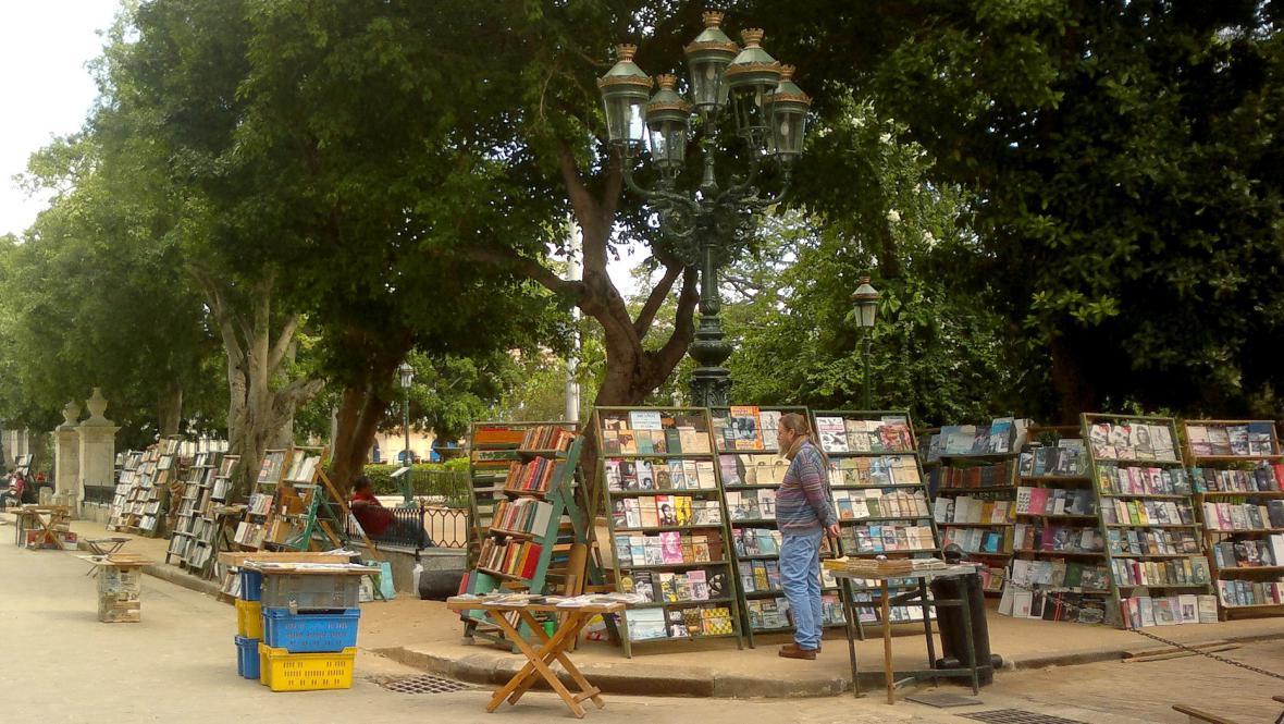 Havanský knižní trh