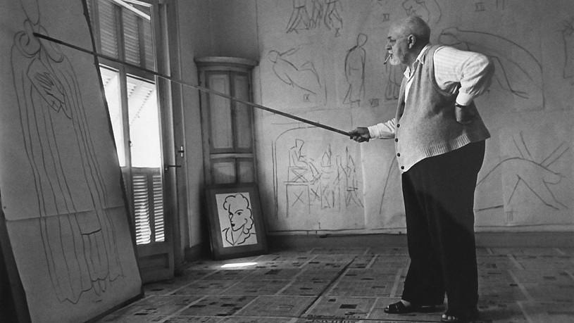 Henri Matisse od Roberta Capy