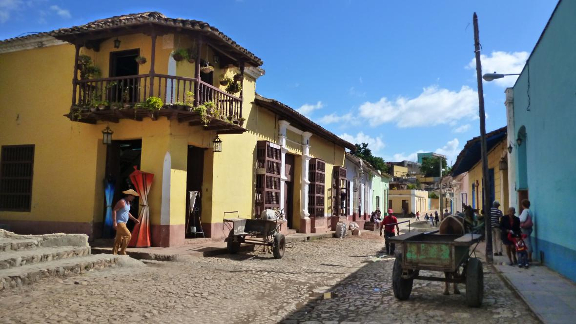 Trinidad dotčený i nedotčený vyspělou civilizací