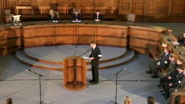 Rekonstrukce soudního procesu s Karlem Peckou