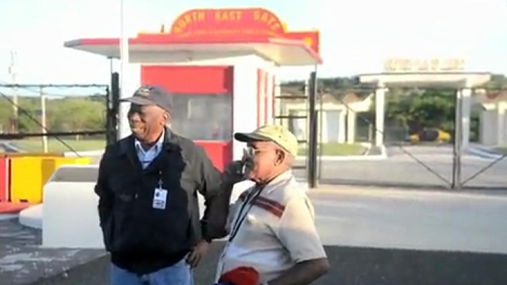 Kubánští důchodci z Guantánama