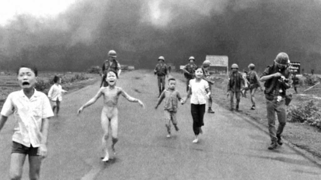 Kim Phucová na slavném snímku z vietnamské války