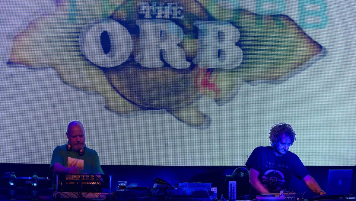 The Orb v pražském Lucerna Music Baru