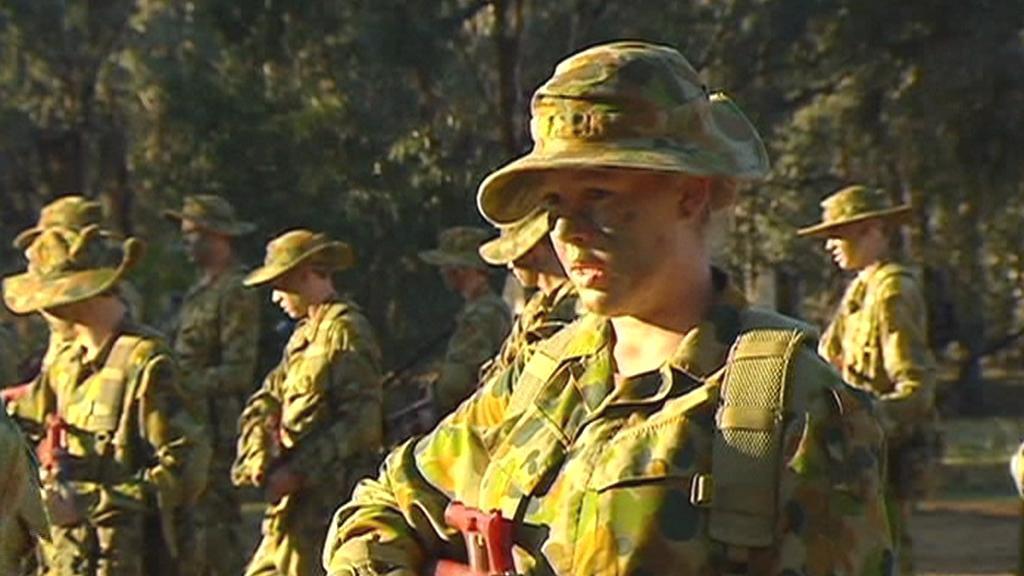 Australské vojačky