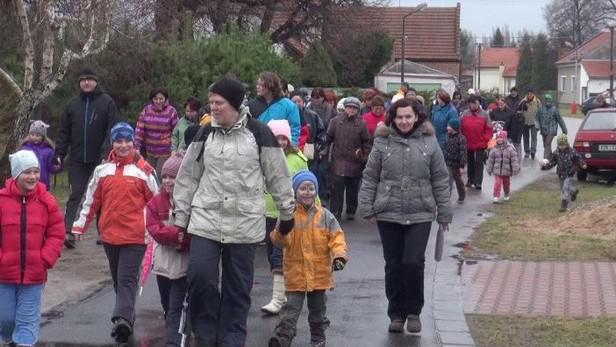 Tříkrálový pochod ve Třech Dvorech