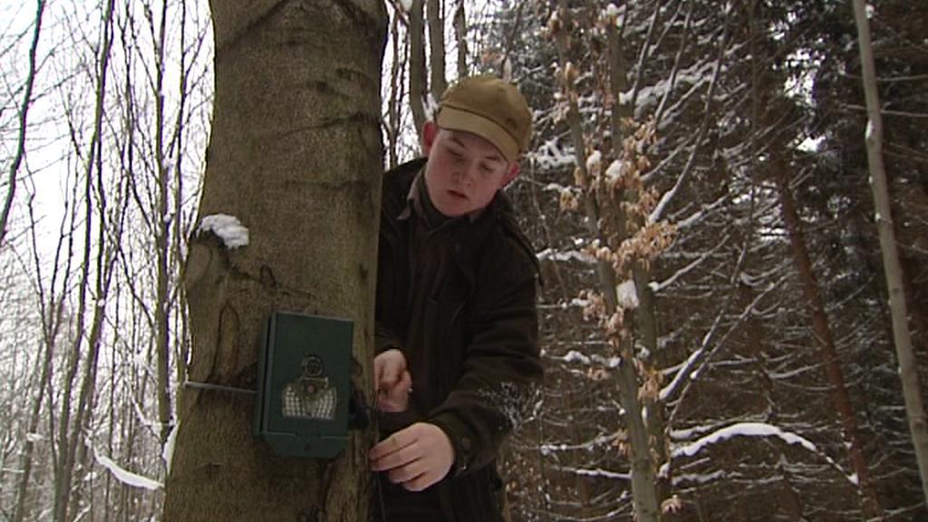Majitel fotopasti, čtrnáctiletý Jakub Franěk