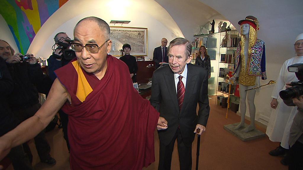 Václav Havel a dalajlama