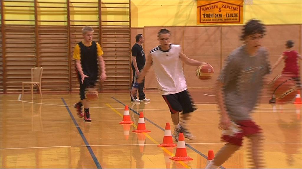 Kroměřížští basketbalisté by chtěli vybojovat nejvyšší soutěž i v juniorech