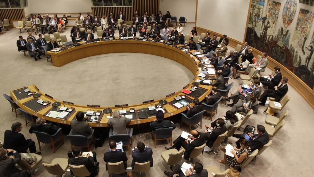 Jednání Rady bezpečnosti OSN o situaci v Sýrii