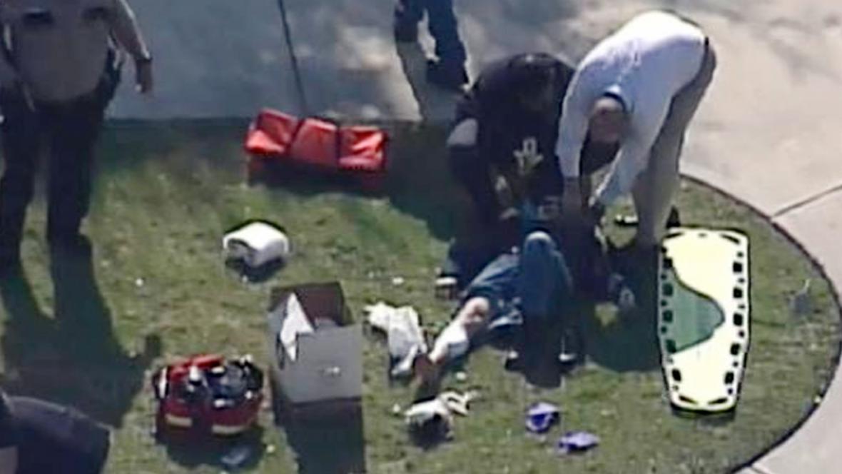 Přestřelka v areálu Lone Star College si vyžádala zraněné