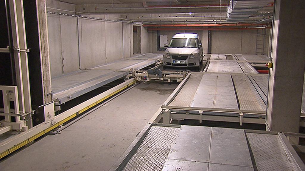 Automatické parkoviště