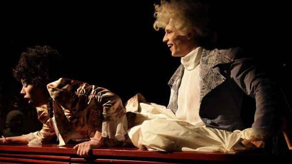 Andrea Mohylová a Igor Orozovič - Konstance a Mozart (Amadeus)