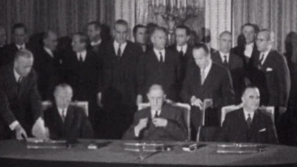 Podpis Elysejské smlouvy