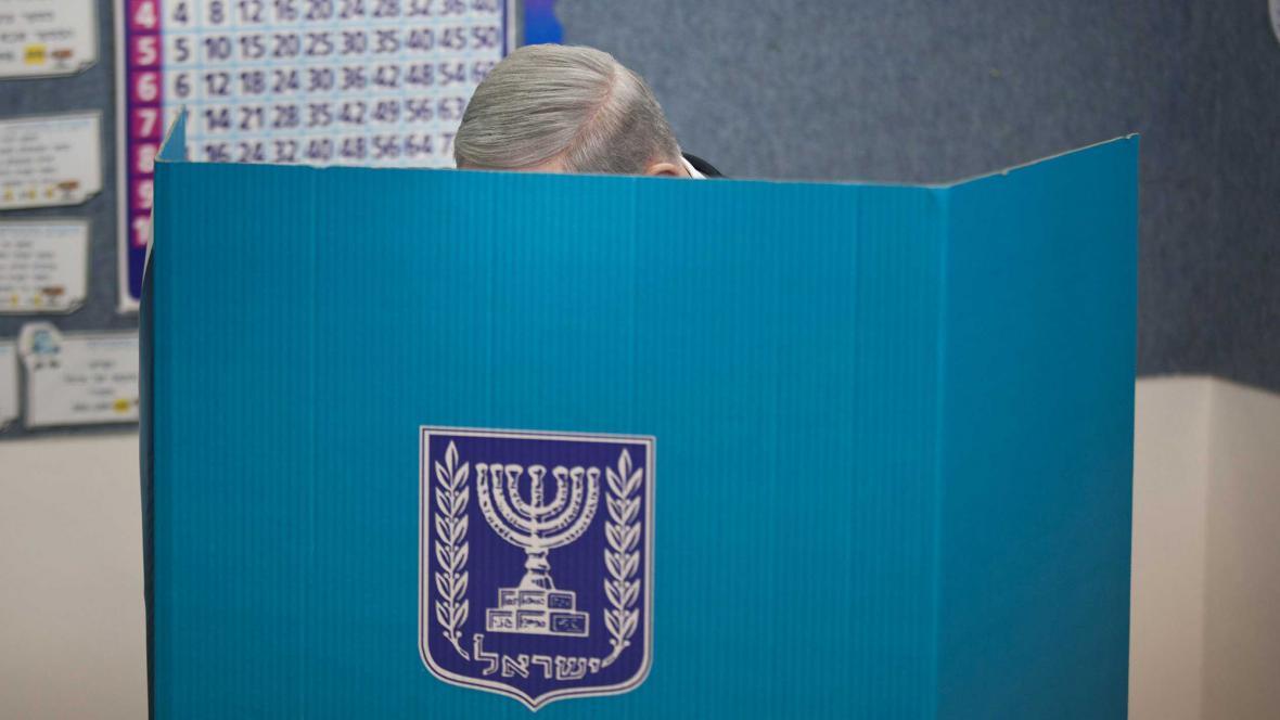 Benjamin Netanjahu volí