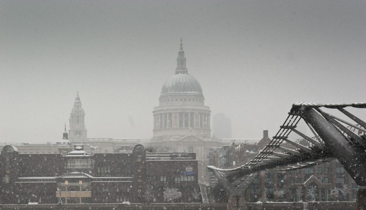 Zimní Londýn