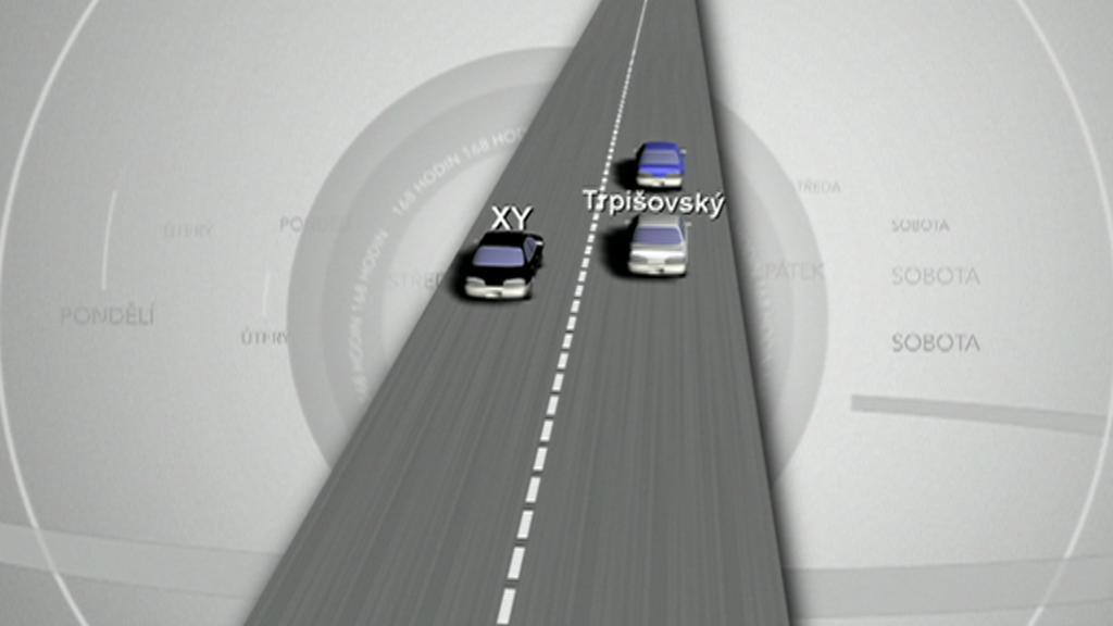 Grafická podoba jedné verze nehody na D1 z 29. prosince 2010