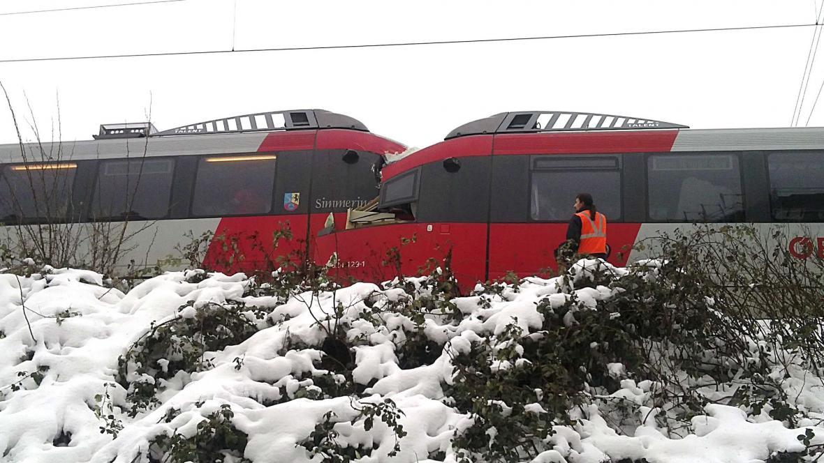 Srážka vlaků ve Vídni