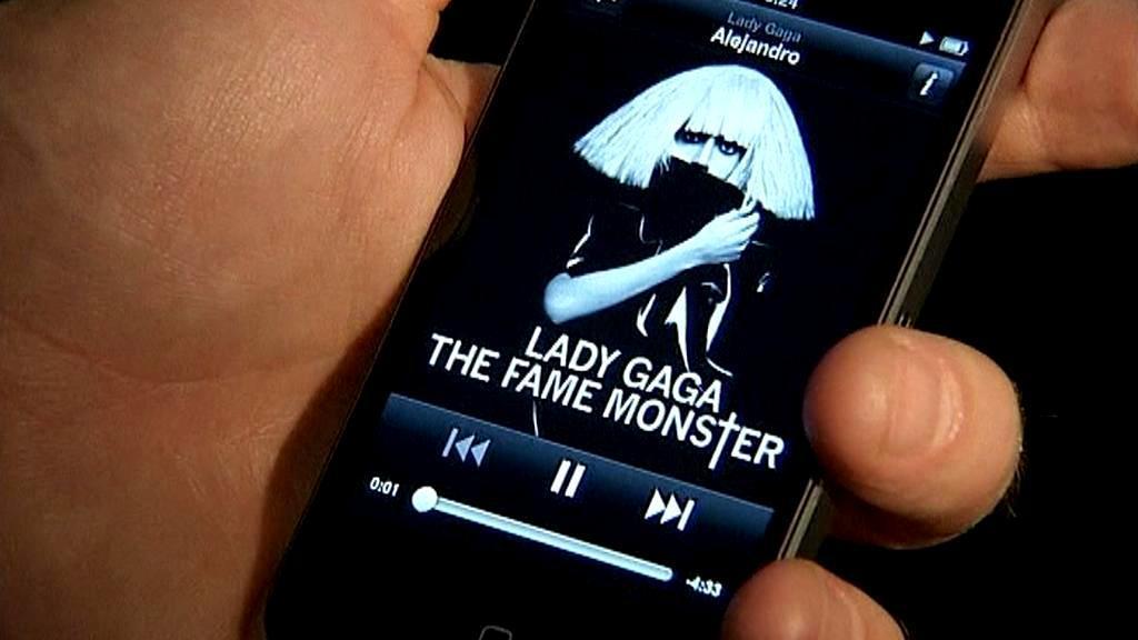 Poslech digitální hudby