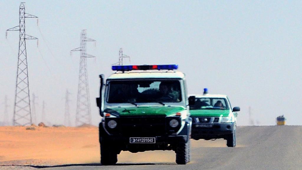Alžírské bezpečnostní síly