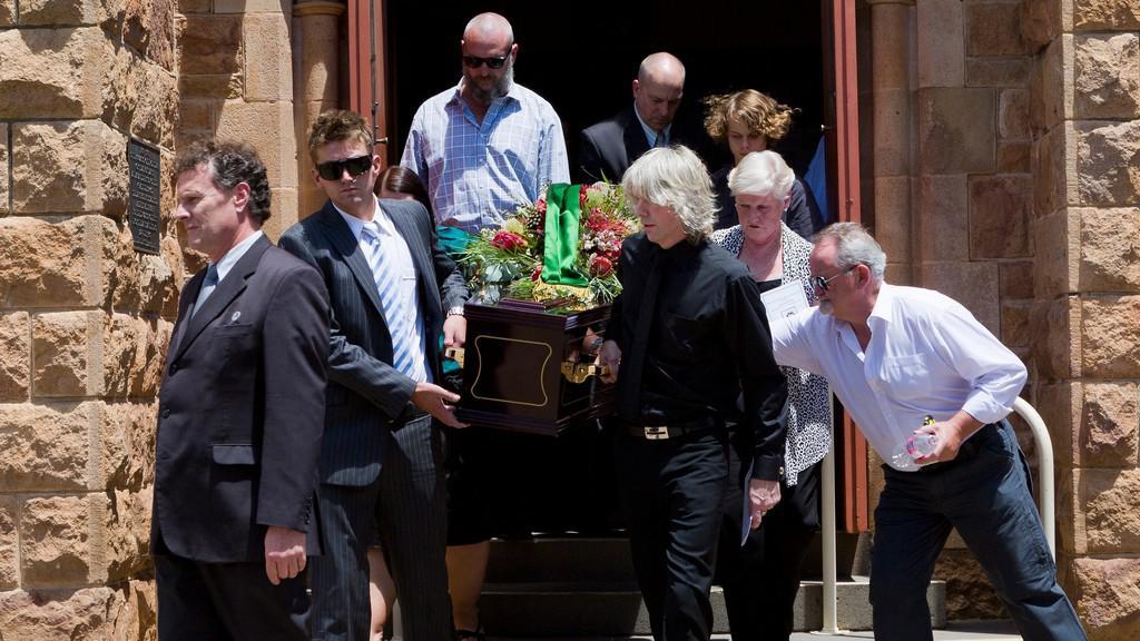 Pohřeb Neda Kellyho