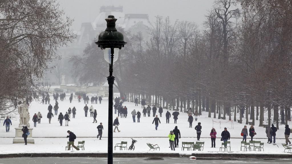 Sníh ve Francii
