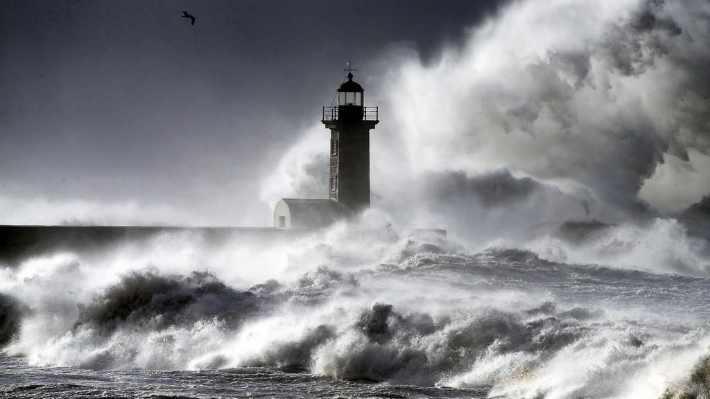 Bouře v Portugalsku