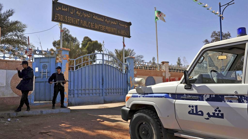 Záchranná operace v Alžírsku